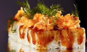 Nikko Sushi & Hibachi: $22 for $40 Worth of Sushi and Japanese Cuisine at Nikko Sushi & Hibachi