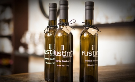 Olive Oils and Vinegars at il Fustino (Up to 50% Off). Two Options Available.