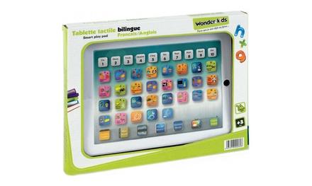Tablette tactile bilingue français - anglais pour enfants (SaintEtienne)