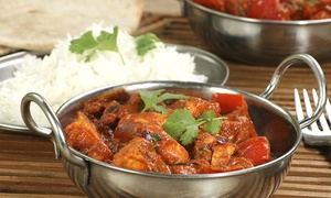 Ashoka Shak: Indian Meal with Rice for Two or Four at Ashoka Shak (Up to 63% Off)