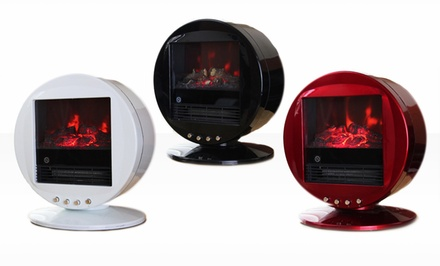 Himalayan Electric Fireplace Heater in Black, Red, or White