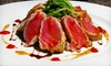 Nicholas James Bistro - Merrick: Upscale American Dinner for Two or Four on Sunday–Thursday or Friday–Saturday at Nicholas James Bistro (Up to 59% Off)