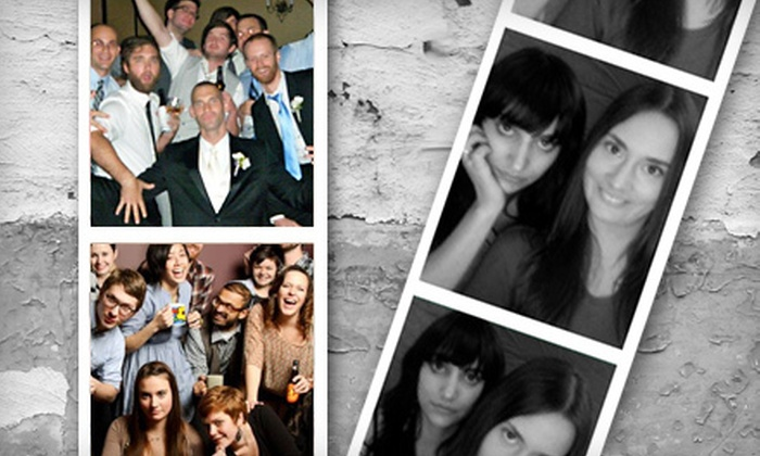 Charm City Photo Booths - Essex: Photo-Booth Rental or Photo Fun-Station Rental from Charm City Photo Booths (Up to 63% Off). Three Options Available.