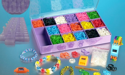 Mega Loom Band Watch and Bracelet Kit. Free Returns.
