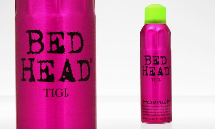 Bed Head Headrush Shine Mist Hairspray: Bed Head Headrush Shine Mist Hairspray; 5.3 Oz.