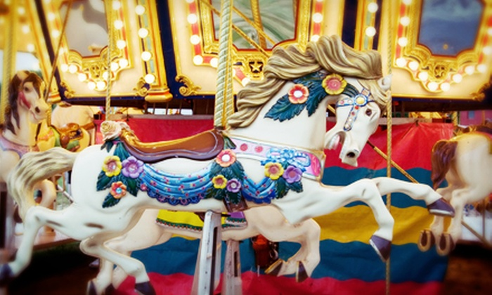 Friends of Ingham County Parks - Haslett: $30 for a Ticket to Cuisine and Carousels Event from Friends of Ingham County Parks ($60 Value)