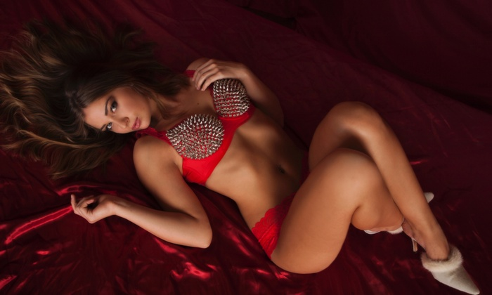 """Light Images - Las Vegas: One- or Two-Hour Boudoir Photo Shoot for Two People with Wine and   5""""x7"""" Prints at Light Images (Up to 92% Off)"""