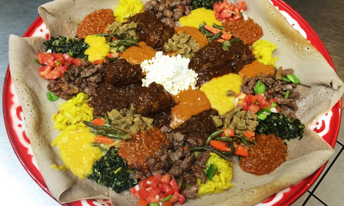 Mahider Ethiopian Restaurant & Market - Liberty Wells: $18 for Two Groupons, Each Good for $18 at Mahider Ethiopian Restaurant & Market ($36 Value)
