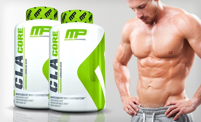 1 or 2 Bottles of Muscle Pharm CLA Core Weight-Loss Supplement from  $9 99–$18 99