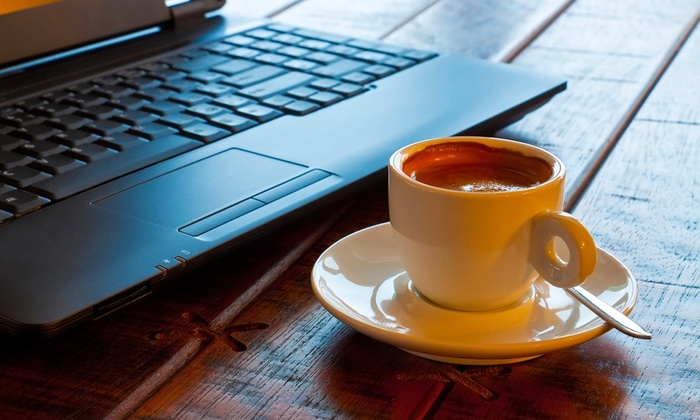 Work Coffeebar - Midvale: $12 for Two Groupons, Each Good for $10 Worth of Coffee, Tea, and Pastries at Work Coffeebar ($va Value)