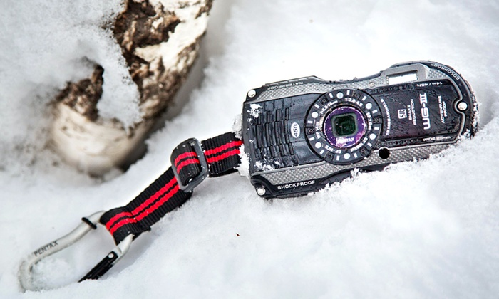 Pentax WG-3 Tough Camera: Pentax WG-3 Tough Camera in Black or Orange