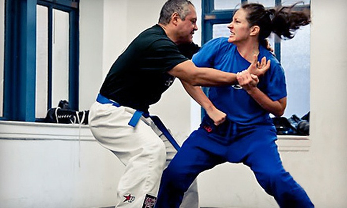 Krav Maga Federation - Manhattan: Three or Five Krav Maga Self-Defense Classes at Krav Maga Federation (Up to 57% Off)