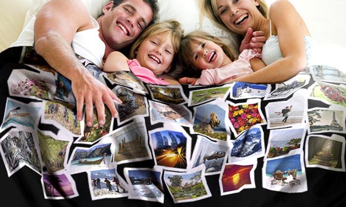 Coperta Pile Con Foto Groupon.Coperta In Pile Personalizzabile Groupon Goods