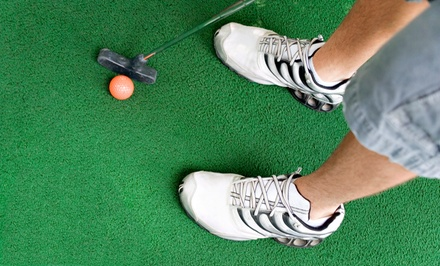 18-Hole Round of Mini Golf and Five Batting-Cage Tokens for Two or Four at Southern Golf (50% Off)