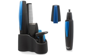 Sharper Image 3-in-1 Nose Trimmer and Personal Grooming Kit