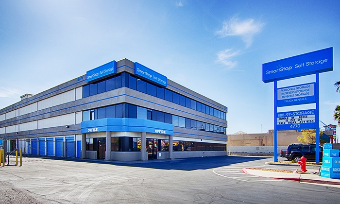 Smart Stop Self Storage Las Vegas - Multiple Locations: Three Months of Storage in a 5'x10' or 10'x10' Unit at Smart Stop Self Storage Las Vegas (Up to 82% Off)