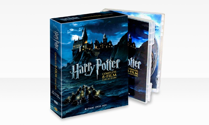 Harry Potter Complete 8-DVD Collector's Set: Harry Potter: The Complete Eight-Film Collection DVD Set. Free Returns.
