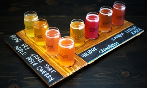 Flight of Cider and Pints for Two or Four at The Craftroom (Up to 47% Off)