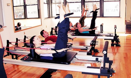 Pilates Package with Intro Session and Three or Five Semi-Private Lessons at IM=X Pilates Boston (Up to 69% Off)