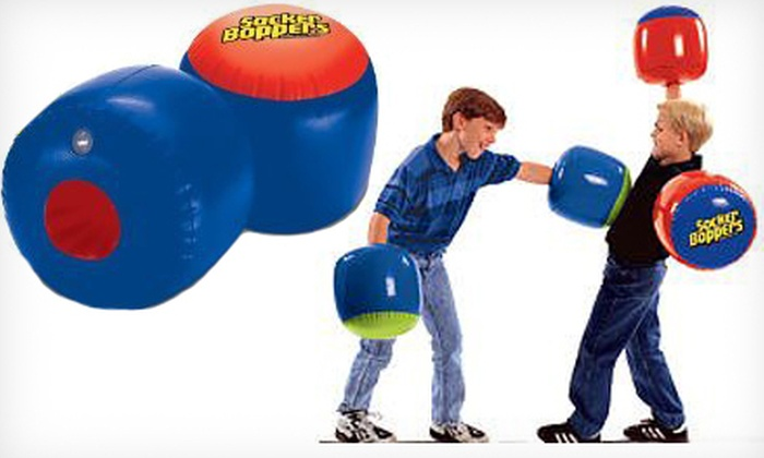 Two Pairs of Socker Boppers: $19 for Two Pairs of Socker Boppers ($39.95 List Price)