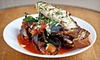 Crush - Solana Beach: Prix Fixe Italian Dinner with Wine for Two, Four, or Six at Crush Italian Cuisine and Lounge (Up to 56% Off)