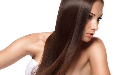 Haircut with Moroccanoil Treatment and Option of Full Highlights at Primp Hair Salon (Up to 51% Off)