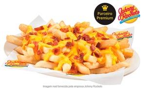 Johnny Rockets: Johnny Rockets – 11 endereços: porção de bacon cheese fries