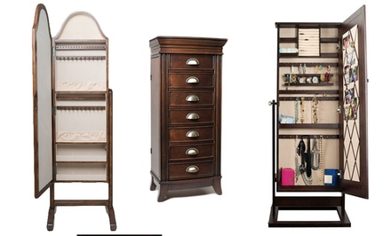 Hives & Honey Jewelry Armoire or Mirror from $169.99–$199.99