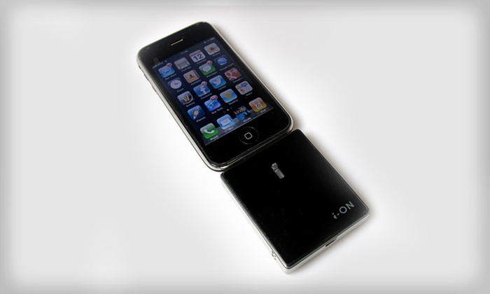 i-ON Extended Battery Stick for iPhone 4/4s and iPod: $12.99 for a 1400mAh Extended Battery Stick for iPhone 4/4s and iPod ($61.59 List Price). Free Returns.