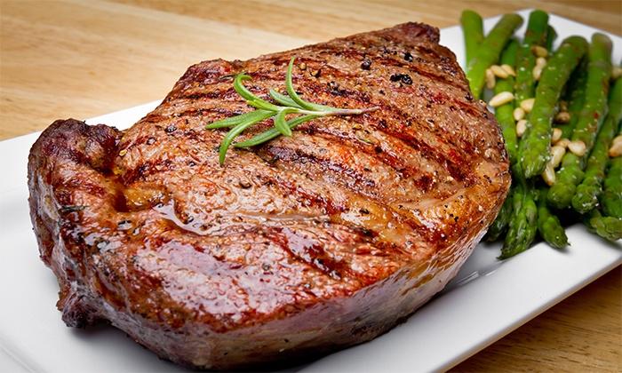 amerikanisches 3 g nge steakmen restaurant l we groupon. Black Bedroom Furniture Sets. Home Design Ideas