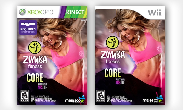 Zumba Fitness Core for Wii or Kinect for Xbox 360: $26.99 for Zumba Fitness Core for Wii or Kinect for Xbox 360 ($39.99 List Price). Free Shipping and Returns.
