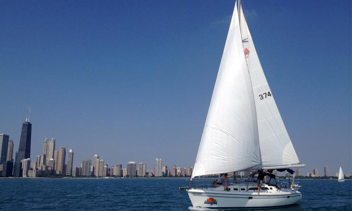 Chicago Sailboat Charters - Chicago: Luxury First-Class Sailing for Two or Six from Chicago Sailboat Charters (Up to 50% Off)