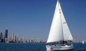Chicago Sailboat Charters: Luxury First-Class Sailing for Two or Six from Chicago Sailboat Charters (Up to 50% Off)