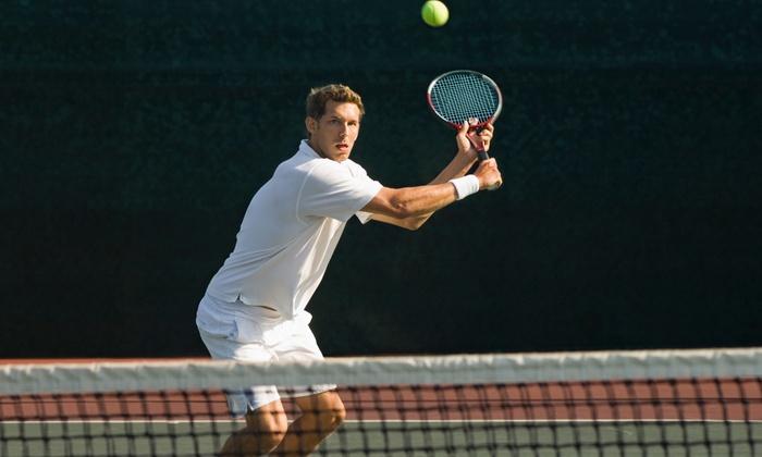 Eastern Hills Indoor Tennis Club - Linwood: One Summer Membership with Four Adult Group Tennis Lessons at Eastern Hills Indoor Tennis Club (Up to 51%Off)