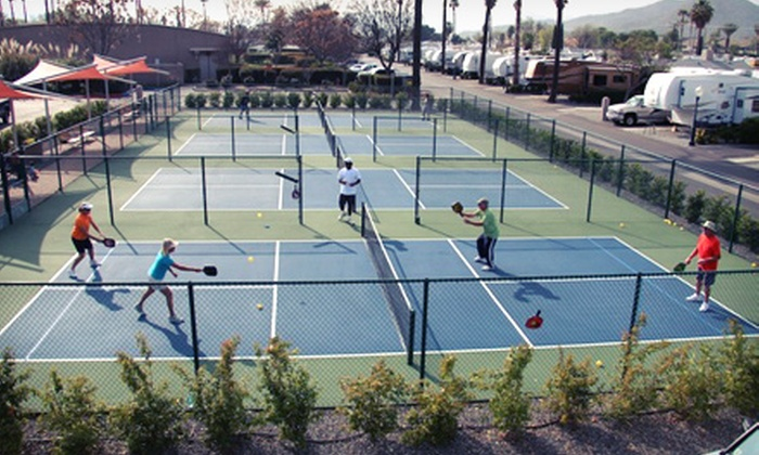 The Pickleball Guru - North Valley: One Private Pickleball Lesson or One or Three Group Lessons at The Pickleball Guru (Up to 61% Off)