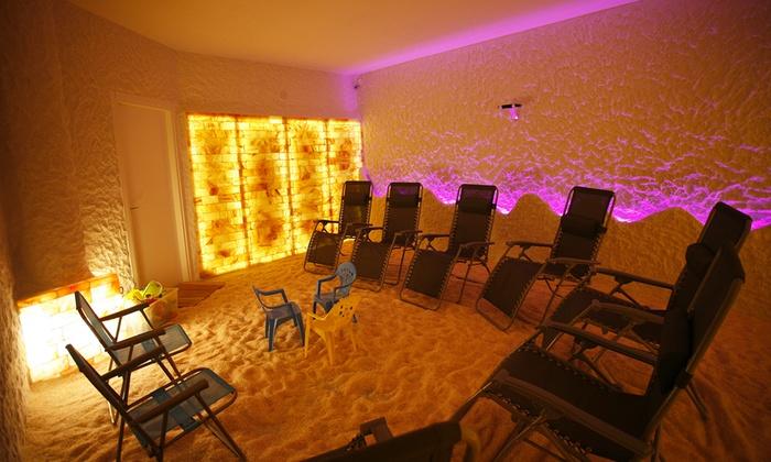 Saleterapia - Saleterapia: 3 o 5 sedute di halotrattamento da 19,99 € in grotta di sale