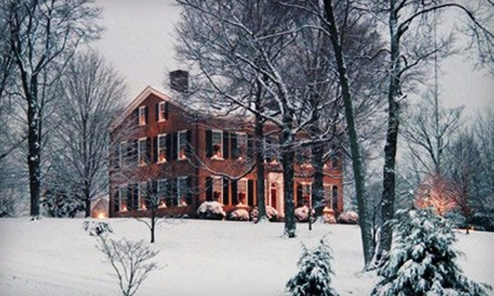 """My Old Kentucky Home State Park - Bardstown: """"My Old Kentucky Home"""" Holiday Day Tour for Two, Four, or Six at My Old Kentucky Home State Park (Up to 56% Off)"""