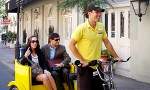 Nashville Pedicab: One- or Two-Hour pedicab Tours from Nashville Pedicab (Up to 51% Off)