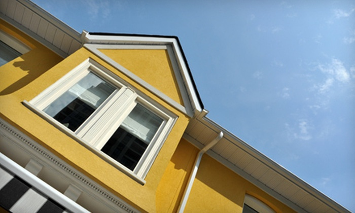 Prestige Window Washing, Inc - Palatine: $59 for Exterior Window- or Gutter-Cleaning Package from Prestige Window Washing, Inc (Up to $145 Value)