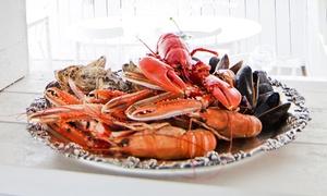 La Perle De Bretagne: Plateau de fruits de mer et 1 ou 2 bouteilles de vin pour 2 ou 4 personnes à emporter dès 45 € chez La Perle De Bretagne