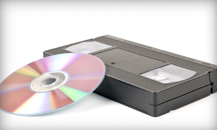 Save Your Tapes - San Antonio: $18 for Two VHS-to-DVD Conversions at Save Your Tapes ($36 Value)
