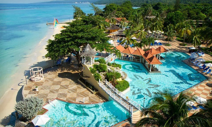Jewel Dunn's River Beach Resort & Spa - Miami: All-Inclusive Four-Night Stay for Two at Jewel Dunn's River Beach Resort & Spa in Jamaica