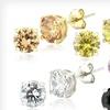 $19 for Simulated Diamond Stud Earrings