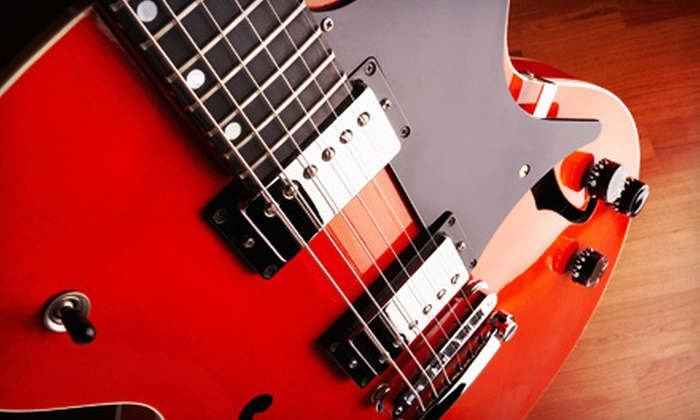 The Works: Guitars - Bixby: $40 for a Four-Week Introductory Guitar Course at The Works: Guitars ($80 Value)
