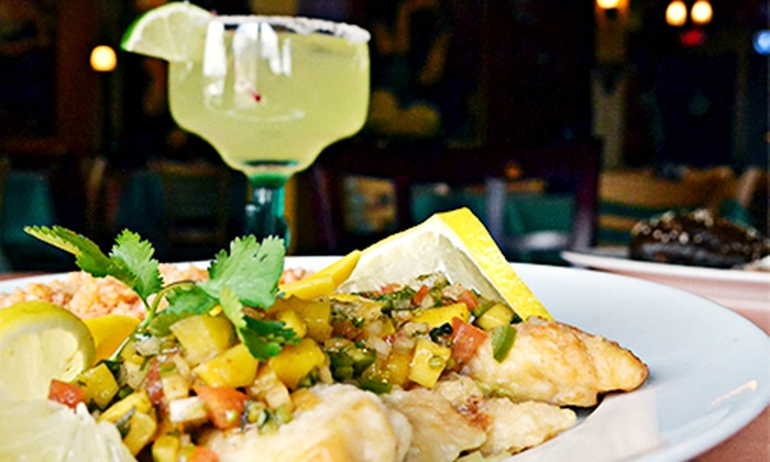 El Picante Mexican Grill - La Grange: Mexican Meal for Two or Four with Guacamole, Entrees, and Drinks at El Picante Mexican Grill