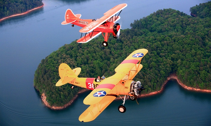 Biplane Adventures, Inc. - Kennesaw: $94 for 20-Minute Biplane Flight from Biplane Adventures, Inc. ($178.20 Value)