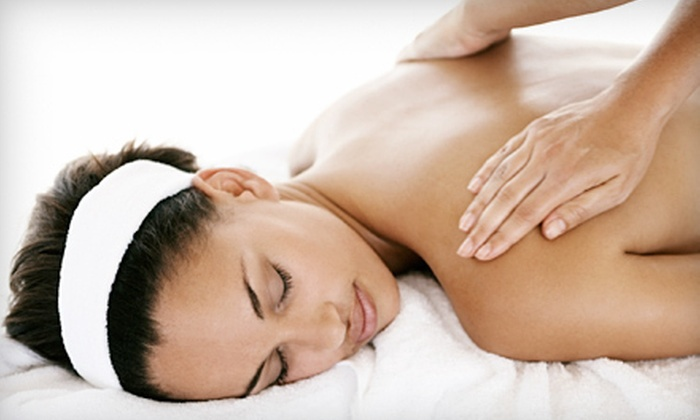 Massage Therapy by Shelley Steeves LMT - Hartford: Serenity Massage with Optional Sea-Salt Body Scrub, or Hot-Stone Massage at Sacred Beauty in Winsted (Half Off)