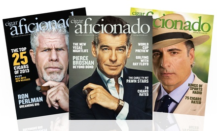 1-Year, 6-Issue Subscription to Cigar Aficionado Magazine