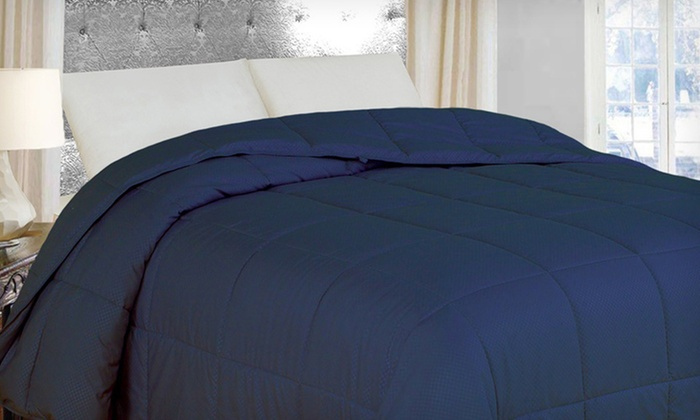 Natural Comfort Lightweight Down-Alternative Comforter: Natural Comfort Lightweight Down-Alternative Comforter. Multiple Colors Available. Free Shipping and Returns.