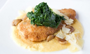 Lucca Ristorante and Wine Bar: Italian Cuisine for Dinner for Two or Four at Lucca Ristorante and Wine Bar (Up to 41% Off)